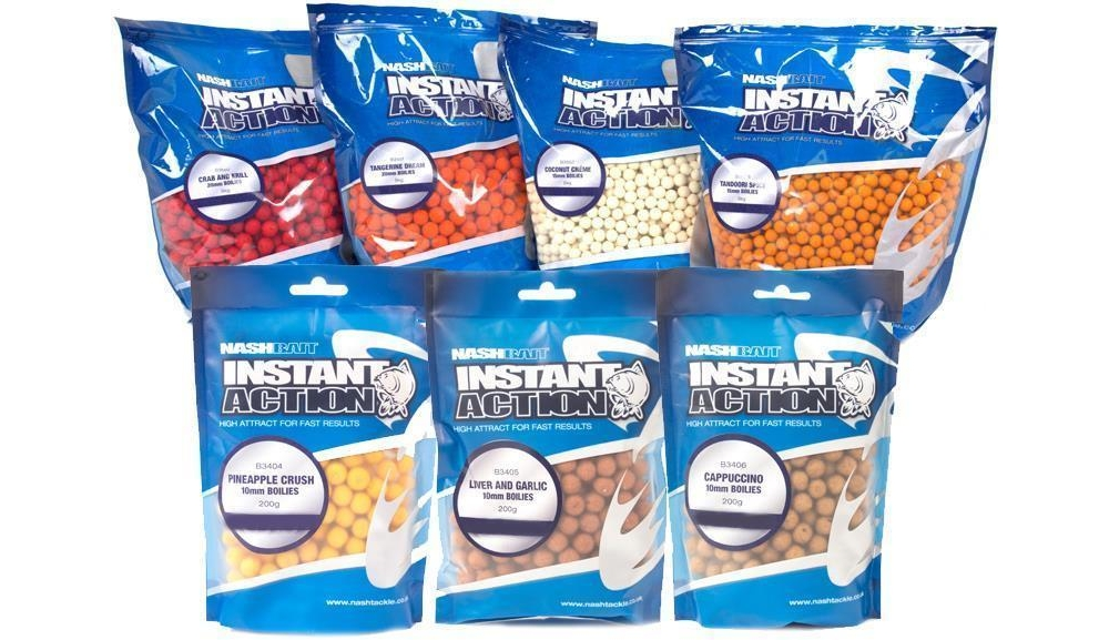 instant action boilies 200g to 5kg