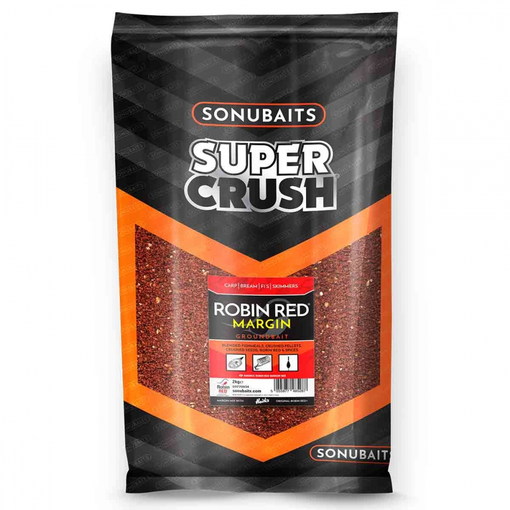 sonubaits - super crush robin red margin mix 2kg